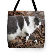 Boojer In Leaves Tote Bag