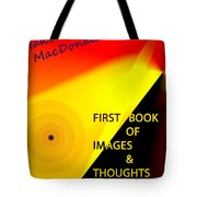 Book Jacket Cover For First Book Tote Bag