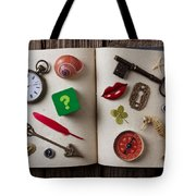 Book Of Secrets Tote Bag by Garry Gay