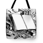 Books: Decorative Cuts Tote Bag