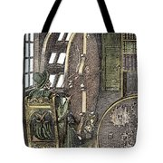 Bookwheel, 1588 Tote Bag