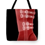 Boot, X-ray Tote Bag by Ted Kinsman