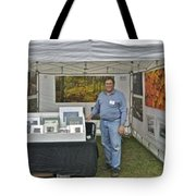 Booth At Saint Clair Shores Tote Bag
