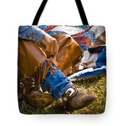 Boots And Quilt On The Trail Tote Bag