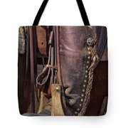 Boots Of A Drover Tote Bag