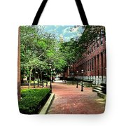 Boott Cotton Mills Courtyard 2 Tote Bag