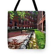 Boott Mill Courtyard Tote Bag