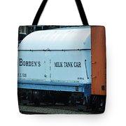 Bordens Milk Tank Car Tote Bag