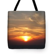 Bosphorus Sunset Marmara Sea Tote Bag
