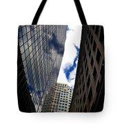 Boston Blue Sky And Stone Tote Bag