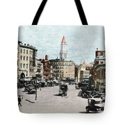 Boston: Bowdoin Square Tote Bag