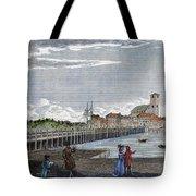Boston: Charles River, 1789 Tote Bag