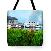 Boston Scene- Boston City Art Tote Bag