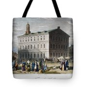 Boston: Faneuil Hall, 1776 Tote Bag