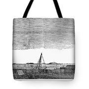 Boston Harbor, 1776 Tote Bag