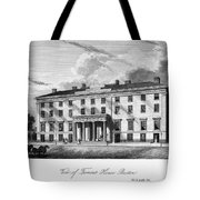 Boston: Hotel, C1835 Tote Bag