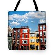 Boston Houses Tote Bag