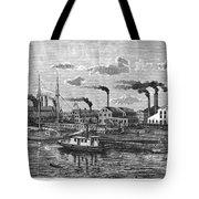 Boston: Iron Foundry, 1876 Tote Bag