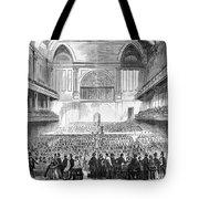 Boston: Music Hall, 1856 Tote Bag