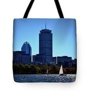 Boston Skyline 2 Tote Bag