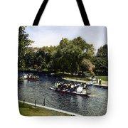 Boston: Swan Boats, C1900 Tote Bag