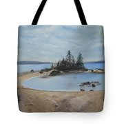 Boswell's Point-lake Superior Tote Bag