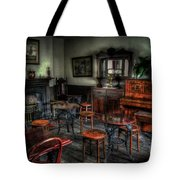 Bottle And Glass Inn Tote Bag