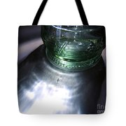 Bottle And Light Photograph Tote Bag