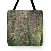 Bottle Brush Grass Tote Bag