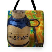 Bottle Of Wishes Tote Bag by Garry Gay