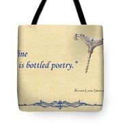 Bottled Poetry Tote Bag