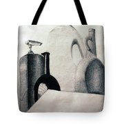 Bottles Tote Bag by Michael Ringwalt