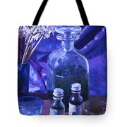Bottles Of Perfume Essence  Tote Bag