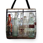 Bottles On The Shelf Tote Bag