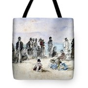 Boudin: Beach Scene, 1869 Tote Bag