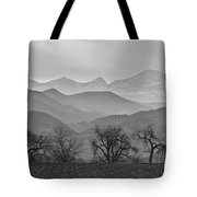 Boulder County Layers Bw Tote Bag