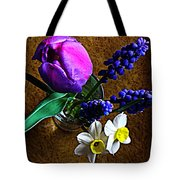 Bouquet Of Bulbs Tote Bag