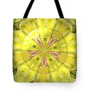 Bouquet Of Roses Kaleidoscope 12 Tote Bag