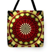 Bouquet Of Roses Kaleidoscope 5 Tote Bag