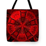 Bouquet Of Roses Kaleidoscope 6 Tote Bag