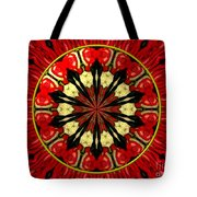 Bouquet Of Roses Kaleidoscope 8 Tote Bag