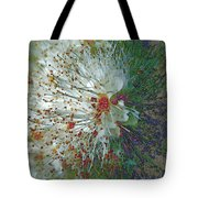 Bouquet Of Snowflakes Tote Bag