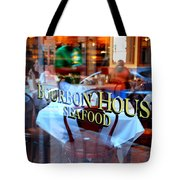 Bourbon House Tote Bag