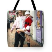 Bourbon Street In Daylight - Santa's Helper Tote Bag
