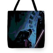 Bow To The Dark Side Tote Bag