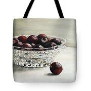 Bowl Full Of Cherries Tote Bag
