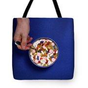Bowl Of Pills Tote Bag