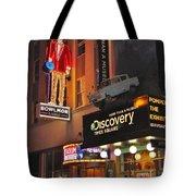 Bowlmor Lanes At Times Square Tote Bag