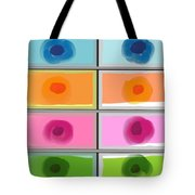 Boxed In Colors Tote Bag
