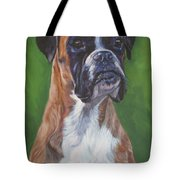 Boxer Tote Bag by Lee Ann Shepard